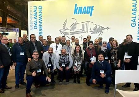 Strong Egyptian Presence at Knauf Werktage in Mains