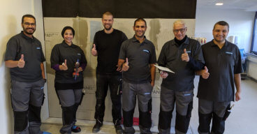 Knauf Egypt Visits Aquapanel Plant with Leading Contractors