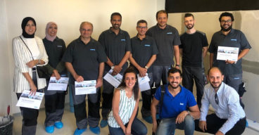 Familiarization Trip to Aquapanel Plant and Barcelona