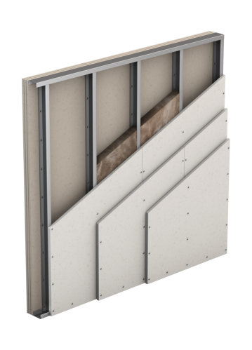 Partition, Single Wall, Triple Layer Cladding (W113)