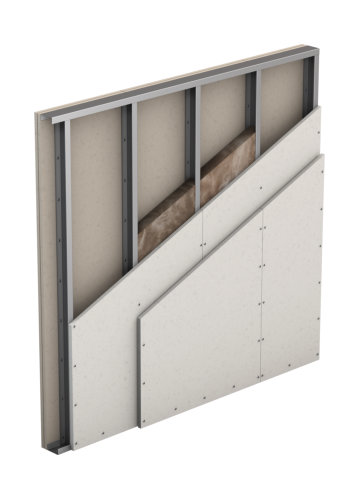 Partition, Single Wall, Double Layer Cladding (W112)