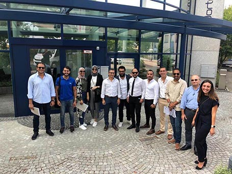 Knauf Egypt Visits Aquapanel Plant with Developers