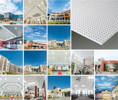 Knauf Innovation Features in Six Landmark Projects