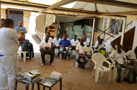 Training of Knauf Systems in Uganda – Kampala