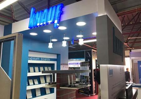 Knauf Egypt Draws Interest at Build Expo 2019