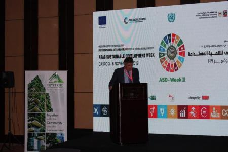 Knauf Egypt Delivers Important Message at The Arab Sustainability Development Week