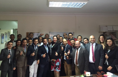 Knauf Egypt Receives Visit from Mrs. Isabel Knauf