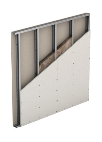 Partition, Single Wall, Single Layer Cladding (W111)
