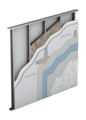 Systems for Knauf aquapanel exterior cement board